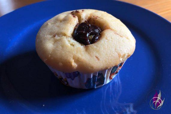 Muffin mit Nudossi fertig genießen