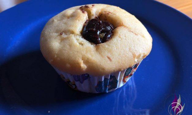 Gefüllte Muffins mit Nudossi – einfache Rezeptidee zum Nachbacken