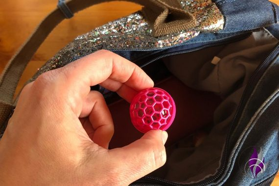 Sauberkugel sauber Handtasche