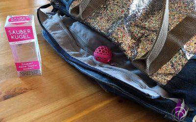 Sponsored Post Sauberkugel – der Taschenreiniger für saubere Taschen und Ranzen