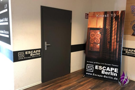 Live Escape Room Berlin Knast 13 Eingang