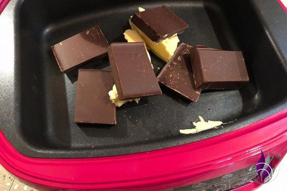 Cake Factory Schokolade schmelzen