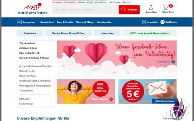 Sponsored Post Online-Apotheke SHOP APOTHEKE Testsieger 2020