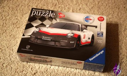 "<span class=""sponsored_text""> Sponsored Post</span> Traumauto in 108 Teilen – Ravensburger 3D Puzzle Porsche 911 GT3 Cup"