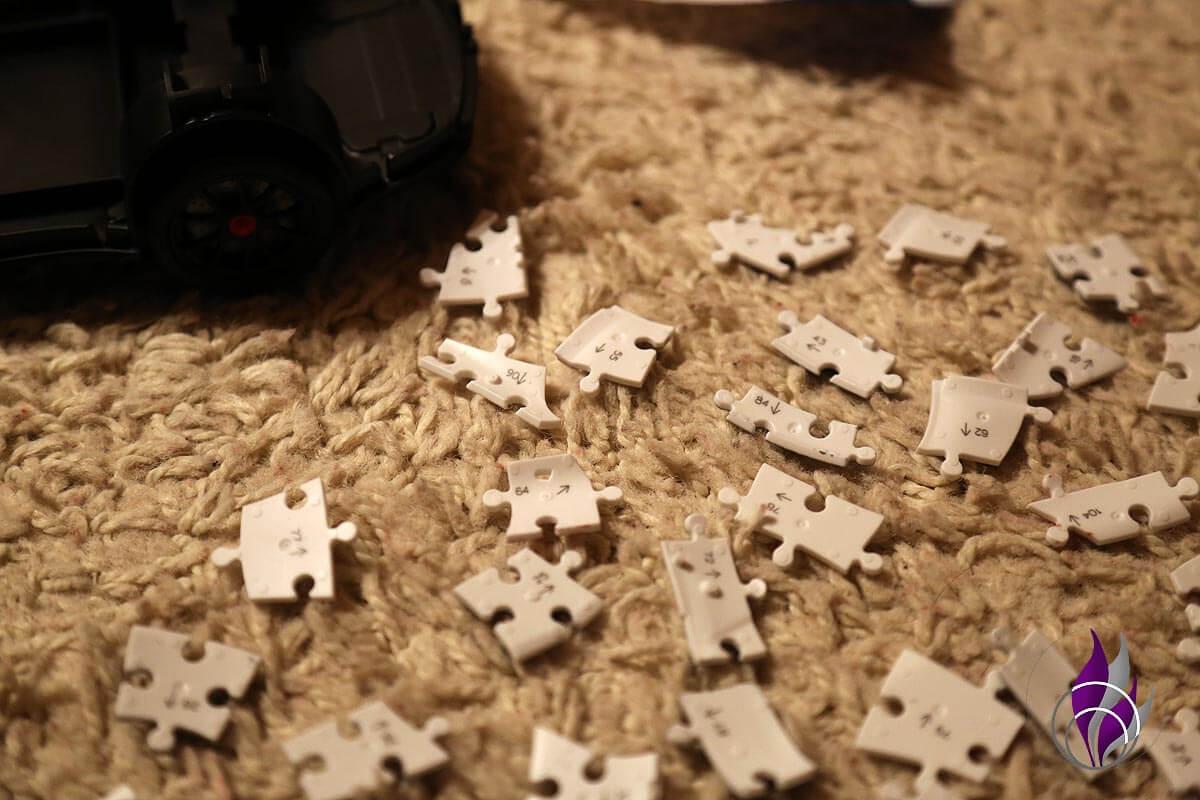 Ravensburger Porsche 3D Puzzle Teile