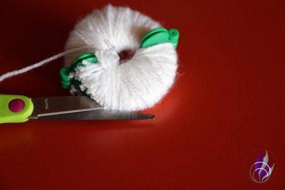 fun4family 3d Osterkarte Wolle schneiden