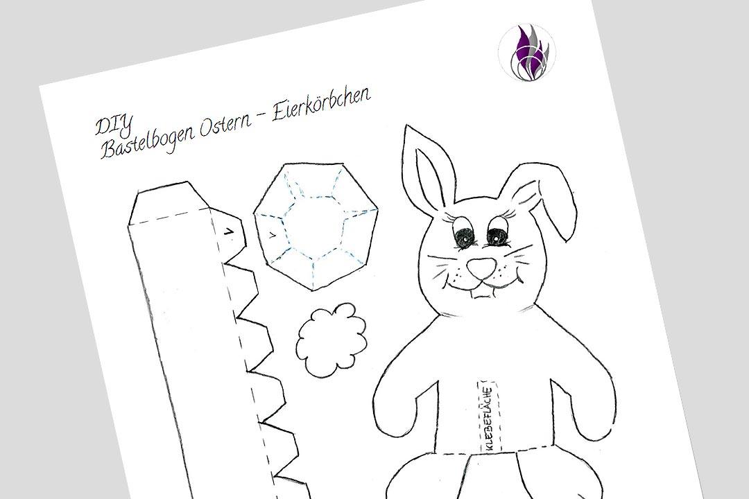 Oster-Eierkörbchen