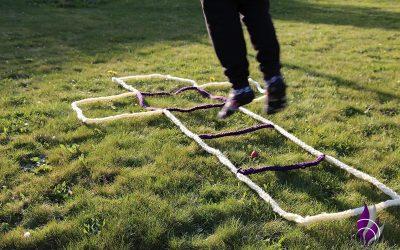 Hickelkasten – beliebtes Bewegungsspiel aus alten Zeiten