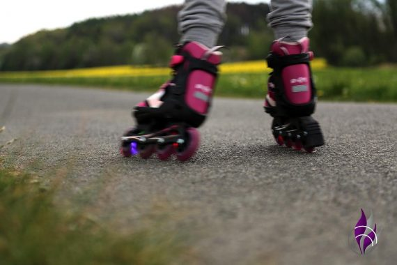 fun4family Inline-Skaten Fortbewegung