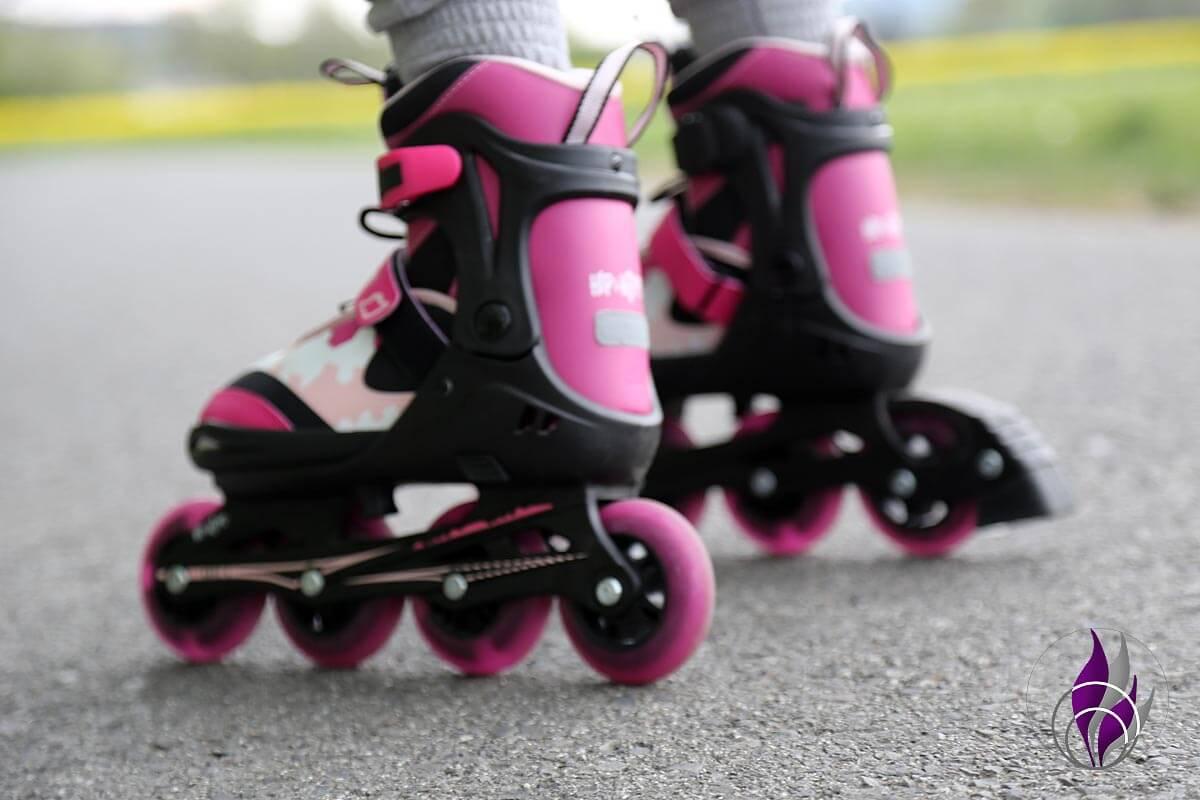 fun4family Inline-Skaten Rollerskates Skates