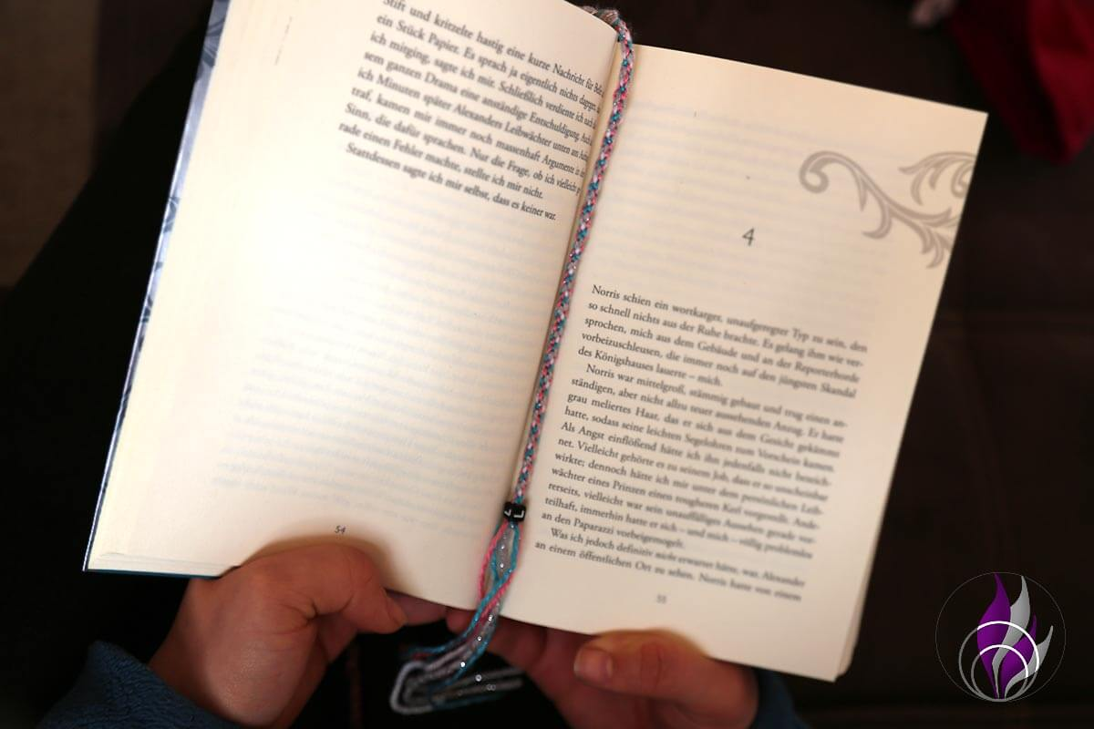 Individuelles Lesezeichen – DIY Bastelidee für Leseratten
