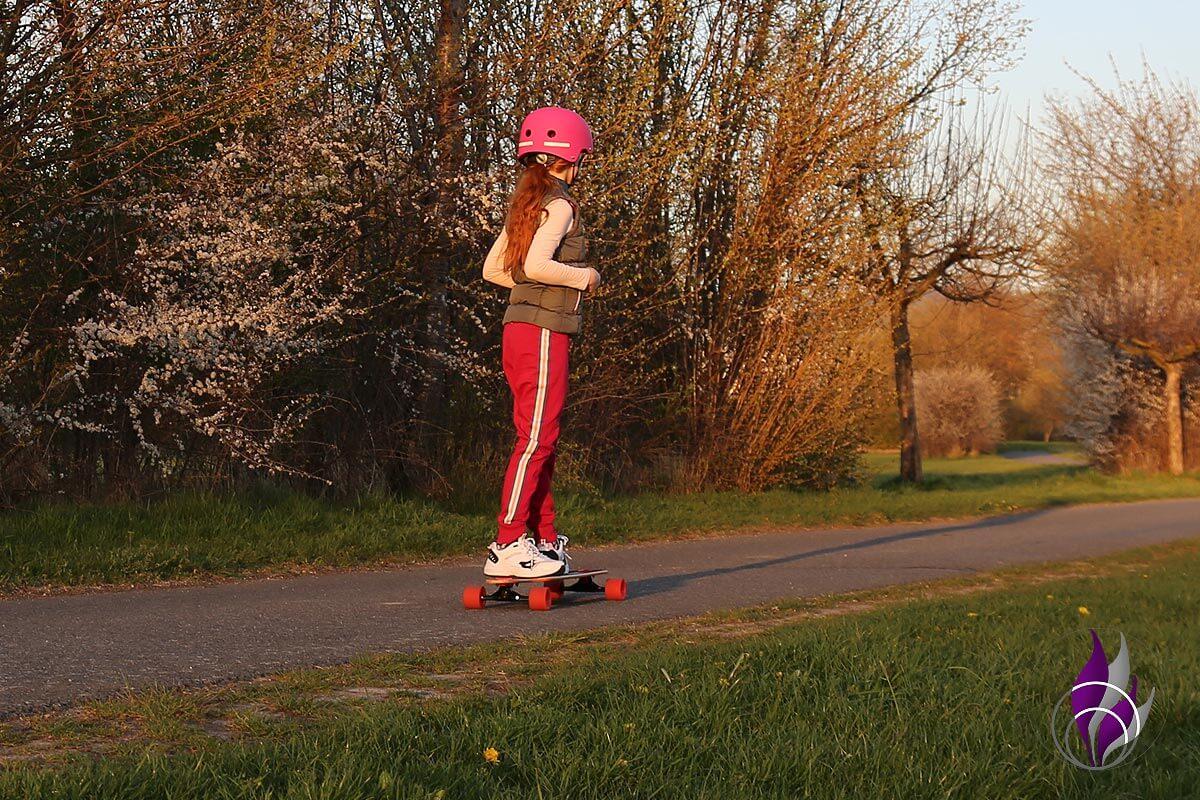 fun4family Longboard fahren Helm