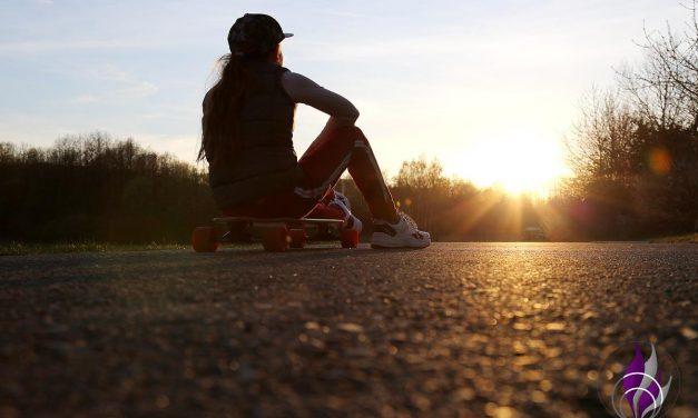 Spaß und schnelle Fortbewegung mit dem Longboard