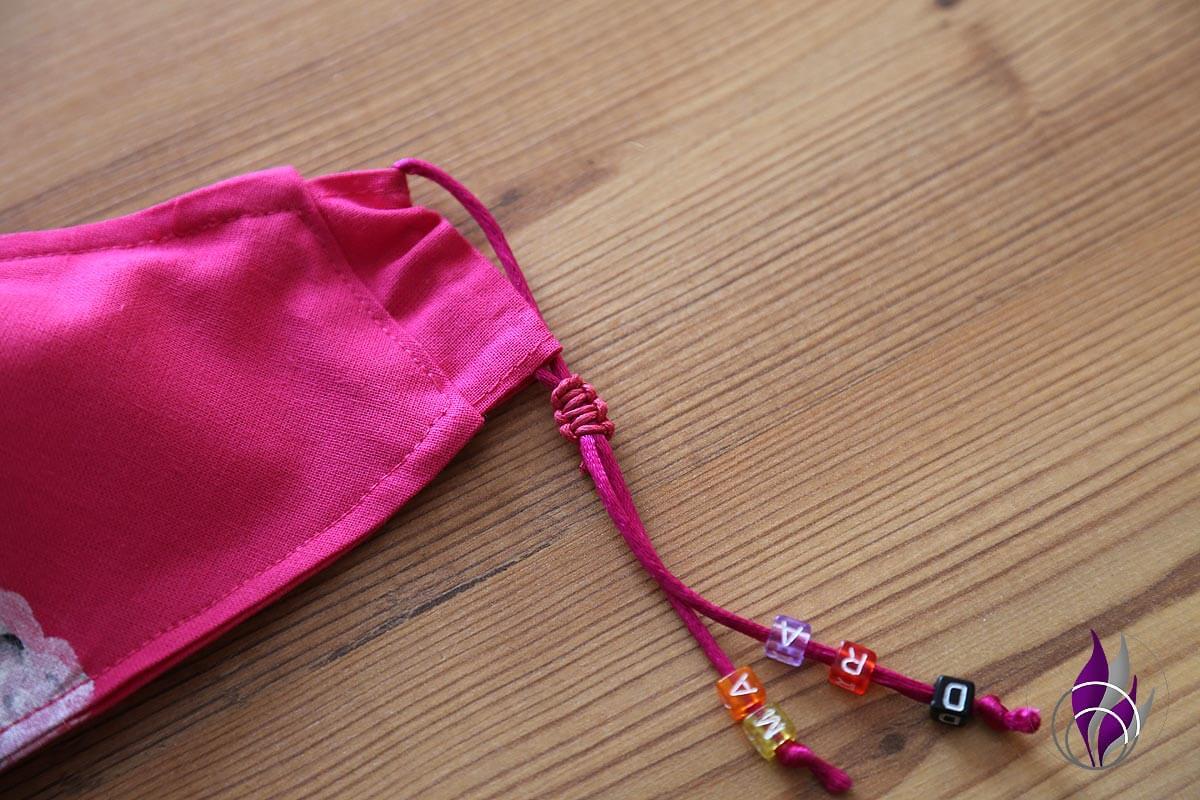 fun4family Mund Maske DIY Lama Makramee Verschluss