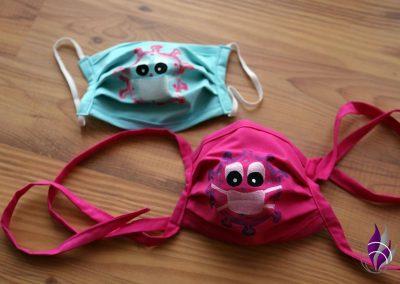 Coroni-Mund-Nasen-Maske