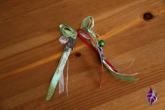 fun4family Osterpost Schleife aus Schleifenband