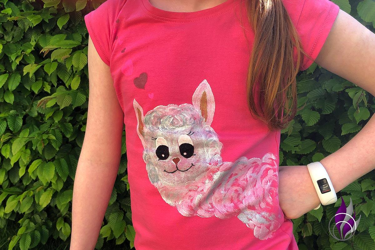 DIY-Projekt: Alpaka-Shirt – ein Muss für Alpaka- und Lama-Fans