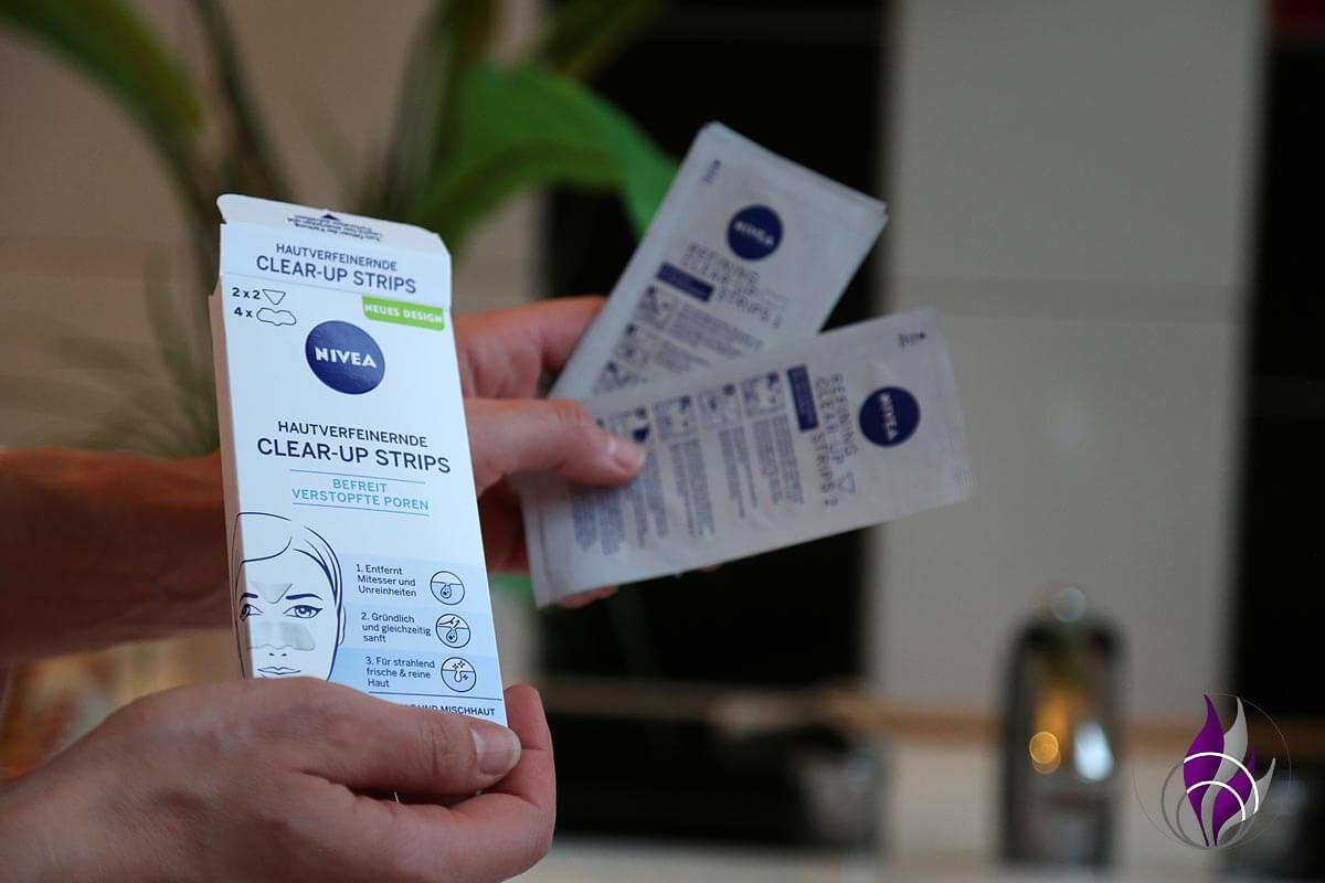 "<span class=""sponsored_text""> Sponsored Post</span> NIVEA Hautverfeinernde Clear-Up Strips im Test"
