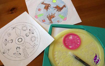 Sponsored Post Midi Mandala-Designer Lama von Ravensburger im Test