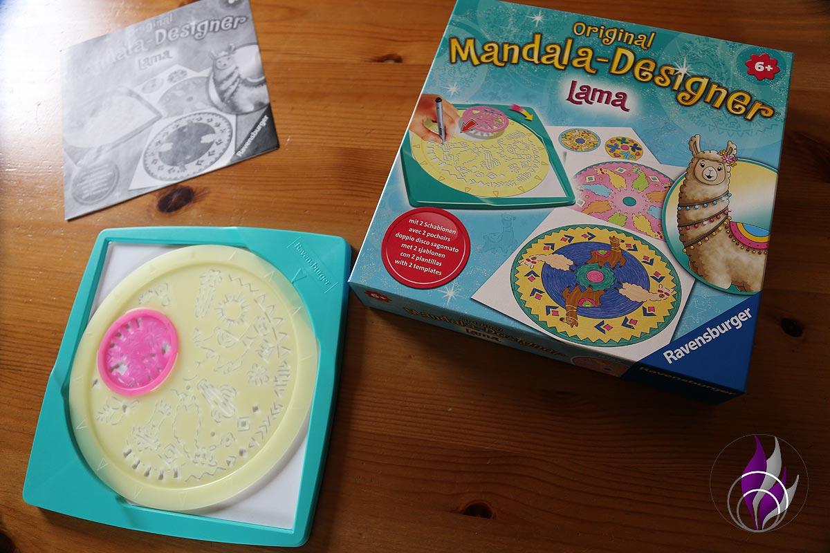 fun4family Midi Mandala-Designer Lama Ravensburger