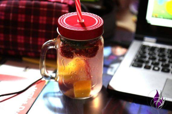 fun4family Trinkgläser Erfrischungsdrink Schreibtisch
