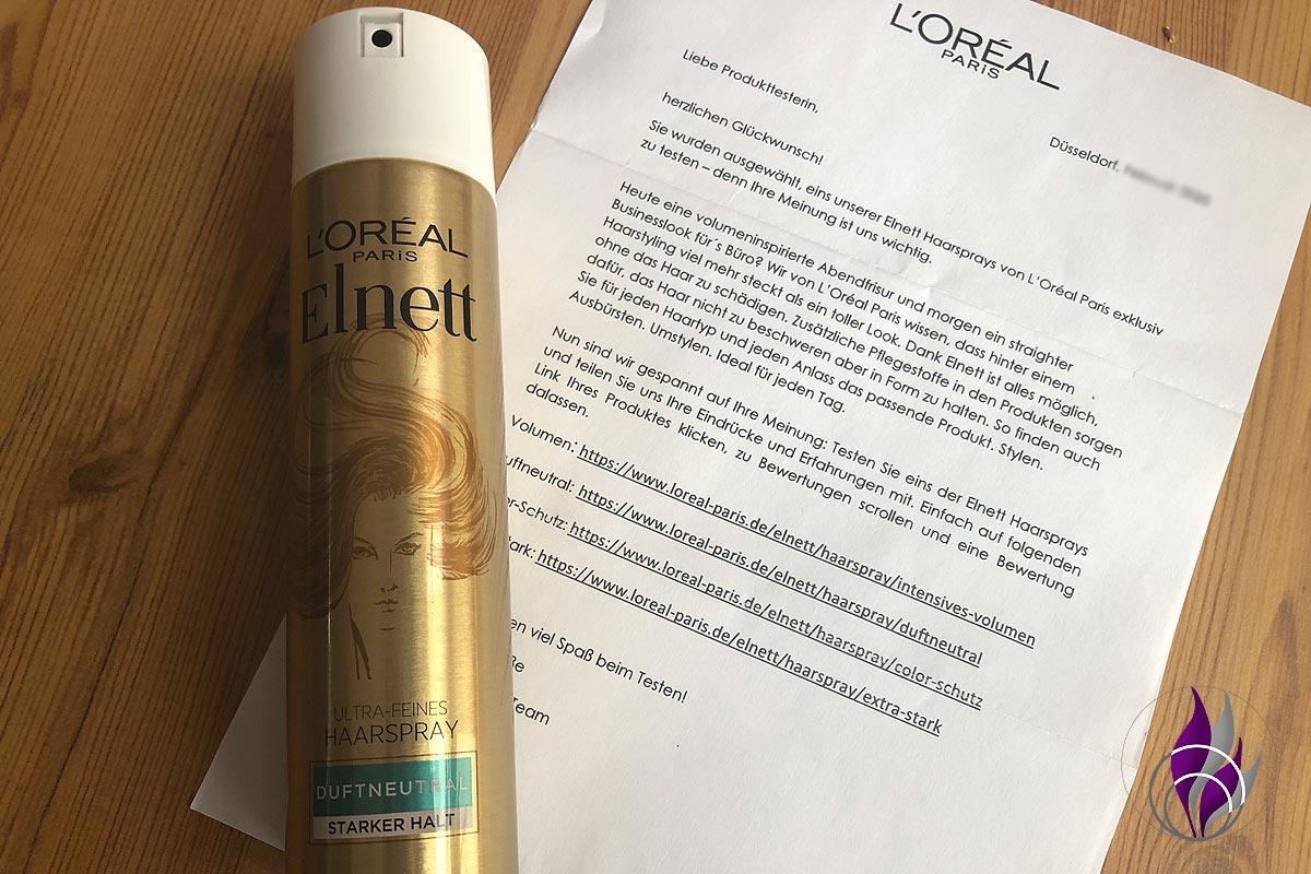 fun4family Elnett Haarspray Duftneutral Produkttest