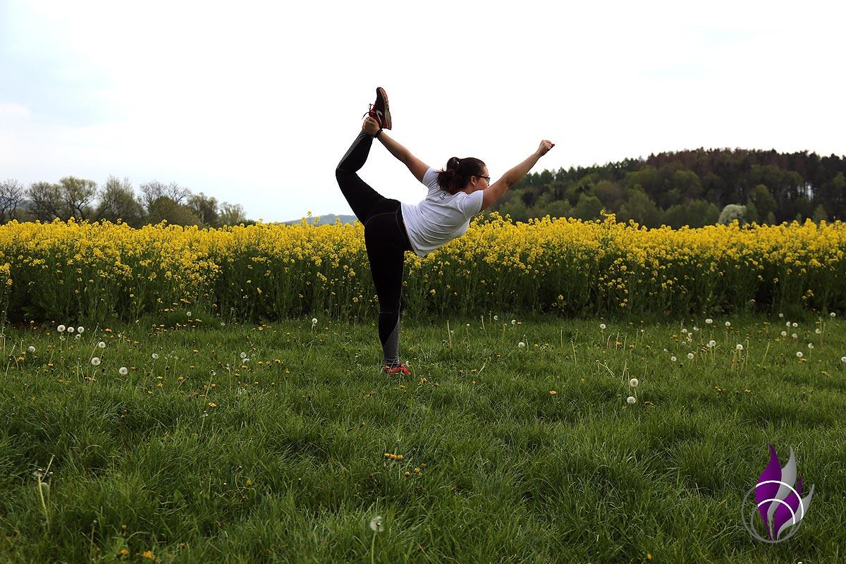 fun4family Outdoor Fitness Balance Yoga Tänzer