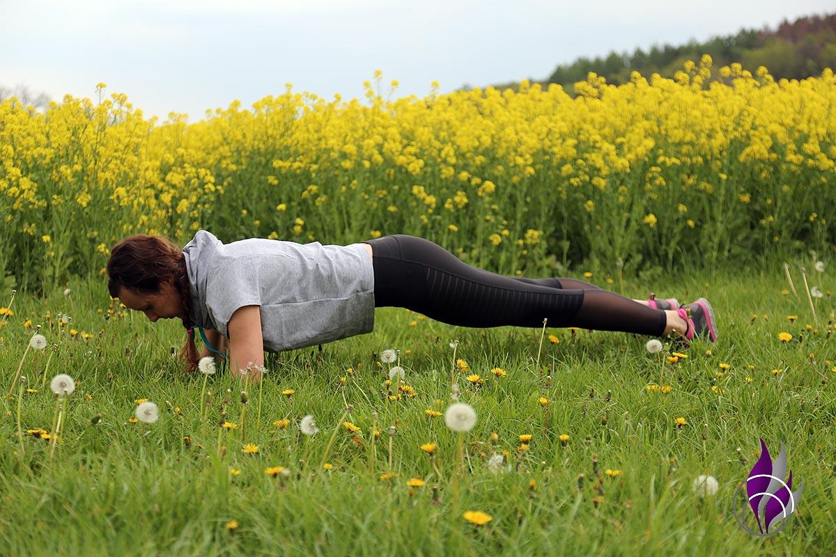 Outdoor-Fitness-Übung Teil 1 – Plank bzw. Unterarmstütz