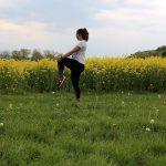 Outdoor-Fitness-Übung Teil 4 – Po- und Oberschenkeldehnung