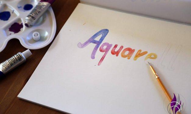 Aquarellfarben – Mehr als einfach nur Wasserfarben