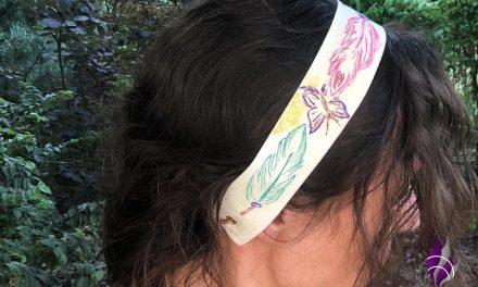 DIY Haarband und Armband für den Sommer im Boho-Look