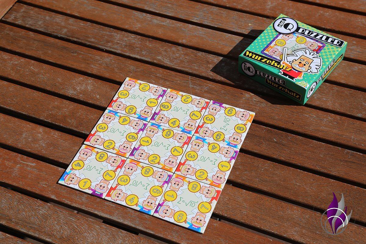 fun4family IG Puzzle ein Q Puzzler Wurzelsatz fertig