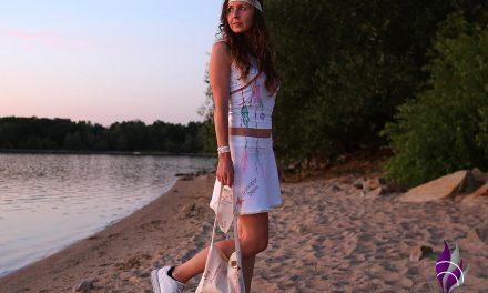 DIY Rock und Shirt im sommerlichen BOHO Style