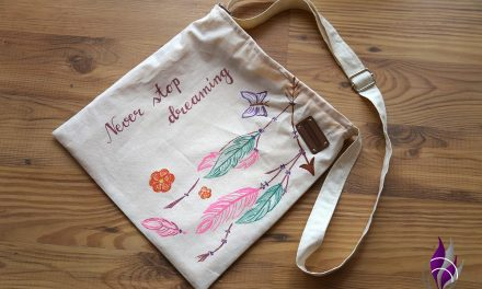 Einfache DIY Tasche im Sommer-Look
