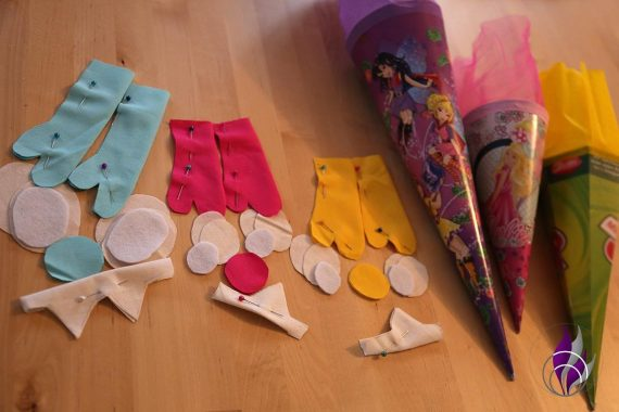 fun4family DIY Upcycling Schultüte Einzelteile