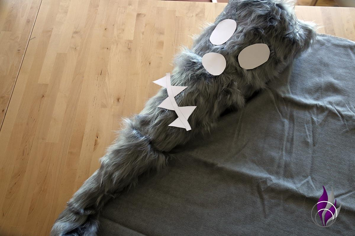 fun4family DIY Schultüte Monster Gesicht Probe