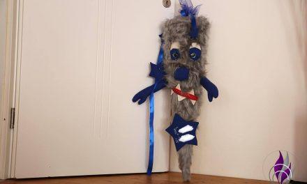 Individuelle DIY Zuckertüte im Monster-Look selbst basteln