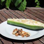 Gefüllte Zucchini mit Frischkäse – zuckerfrei und ideal für die Stoffwechselkur