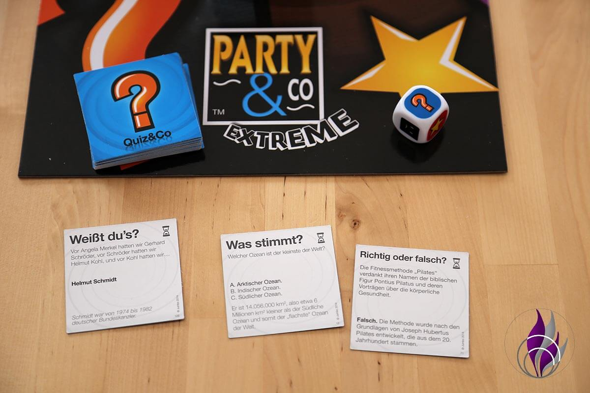 fun4family Party & Co. Partyspiel Kategorie Quiz