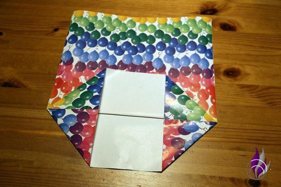 fun4family Papiertüte Boden falten