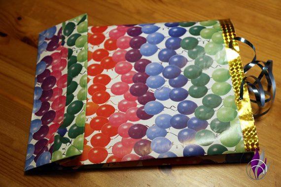 fun4family Geschenktüte Papiertüte fertig