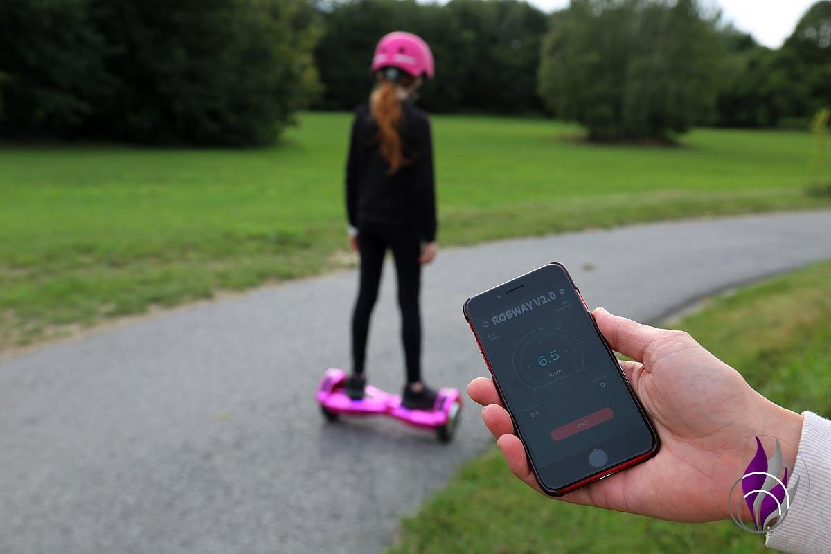 fun4family Hoverboard ROBWAY W2 App Steuerung