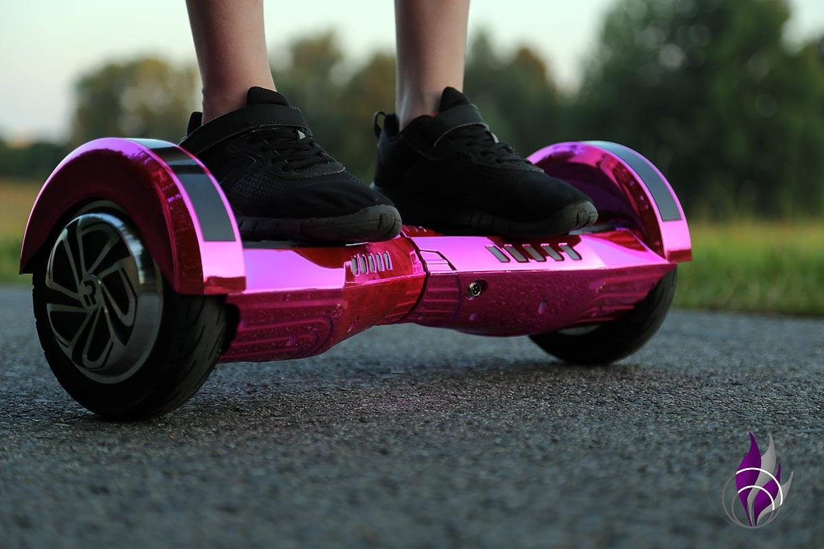 fun4family Hoverboard ROBWAY W2 Balance