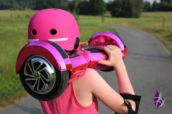 fun4family Hoverboard ROBWAY W2