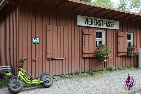 fun4family Monster-Roller Oberwiesenthal Bahnhof Neudorf