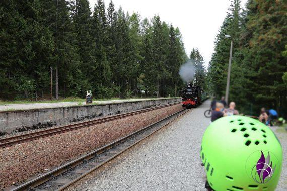 fun4family Monsterroller Oberwiesenthal Bahnhof Neudorf Bahn