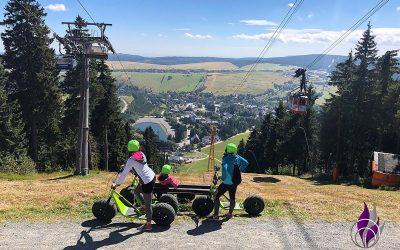 Sponsored Post Monsterroller fahren in Oberwiesenthal – Die grünen Monster sind los