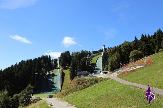 fun4family Oberwiesenthal Erzgebirge Ski Sprungschanze