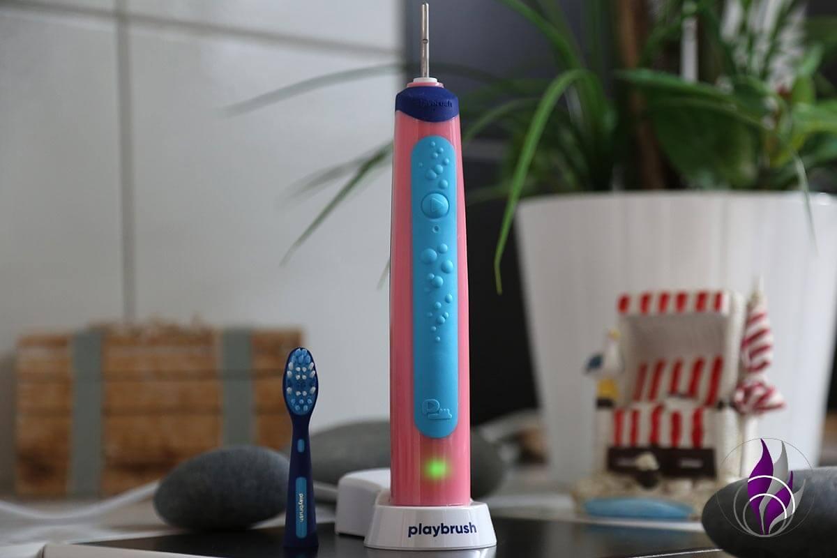 """<span class=""""sponsored_text""""> Sponsored Post</span> Playbrush – Spaß beim Zähneputzen mit der interaktiven Schallzahnbürste"""