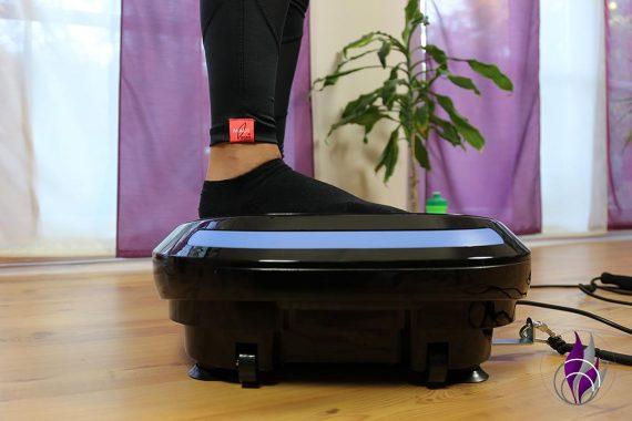 Vibrationsplatte MV300 4D Wave Homeworkout Wadenheben